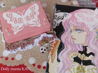 花蝶(ピンク)の画像