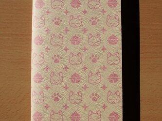 ハンドメイドトラベラーズノートリフィル(レギュラーサイズ)2mm方眼 ピンクの画像