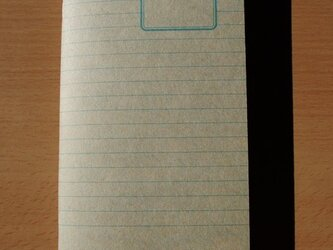 ハンドメイドトラベラーズノートリフィル(レギュラーサイズ)8mm罫 ブルーの画像