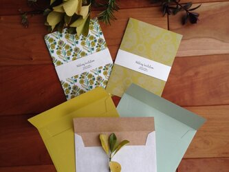 mimosa 招待状 10部setの画像