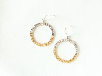 【受注生産】Marine plants Loop P.Earrings(ピアス)の画像