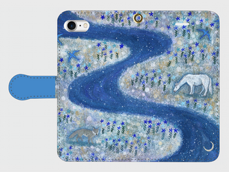 iPhone/手帳型スマホケース「高天原」(受注生産)の画像