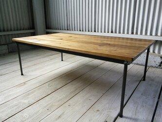 【展示作品】ローテーブル(らんらんる~ 様仕様)の画像