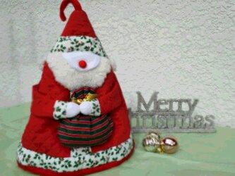 サンタクロースのティーコーゼの画像