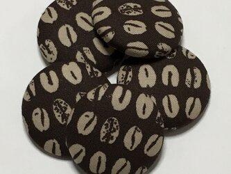 【2本set】コーヒー豆のヘアゴムの画像