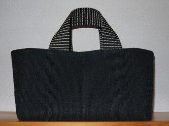 裂き織りバッグ NO14の画像