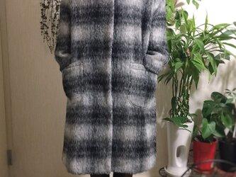 イタリー製pontetorto モヘア混生地使用のコートの画像