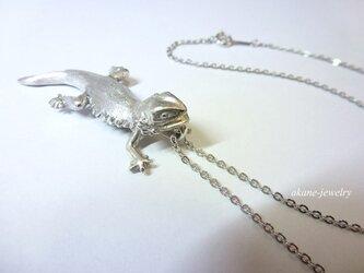 フトアゴヒゲトカゲ ネックレスの画像