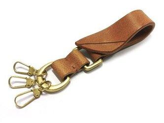 Key Ring (ブラウン)の画像
