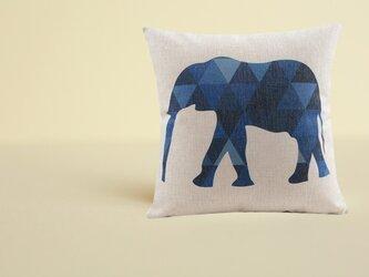 森のクッション Elephantの画像