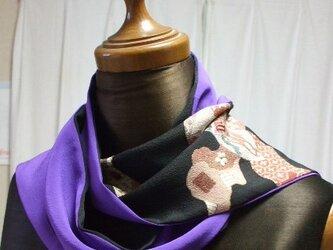 アンティーク留袖を楽しむストールの画像