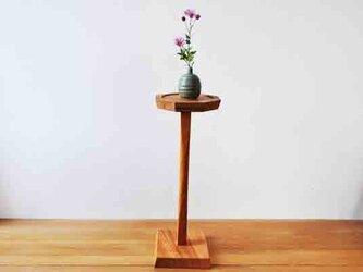 ケヤキの花台ミニの画像