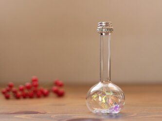 Flask(雪の小瓶)万華鏡 水色の画像