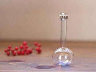 Flask(雪の小瓶)万華鏡 シルバーの画像