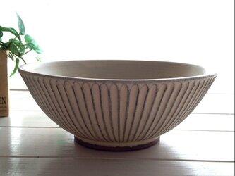 no.81しのぎ盛り鉢・大きめサイズの画像