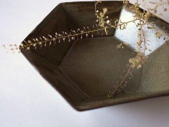 六角鉢(Brown)の画像