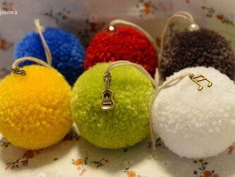 Moco Fuwa decorating for Christmas【6個セット】の画像