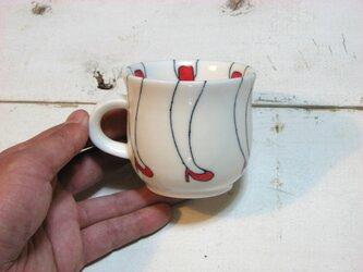 赤いコーヒーカップ 002の画像