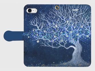 iPhone/手帳型スマホケース「生命の灯火」(受注生産)の画像