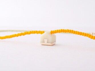 ネックレス Home mini   Milky whiteS06の画像