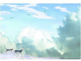 君をつれて 風をつれて A4サイズ の画像
