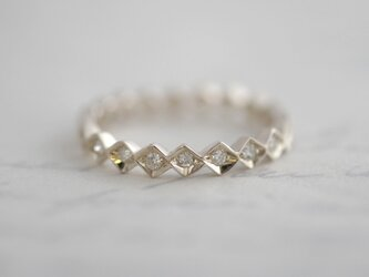 K10WG Eternity ring {R043K10WG}の画像