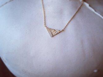 K10 ピラミッドnecklaceの画像