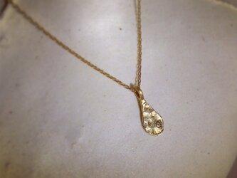 K10 涙の滴 necklace 再販の画像