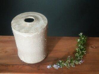 粉引花器の画像