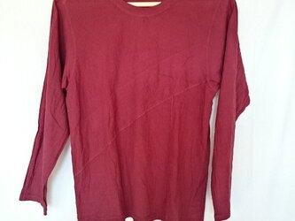 ロングスリーブガーゼTシャツの画像