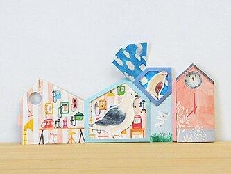カード ハト時計の画像
