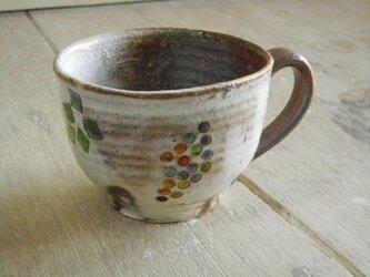 百色(ももいろ)象嵌 マグカップ(丸)ぶどうの画像