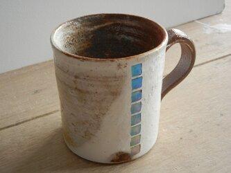 モルフォ象嵌 マグカップの画像