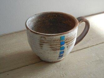 モルフォ象嵌 マグカップ(丸)の画像