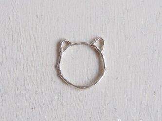 【受注制作】- Silver - Kitty Ringの画像