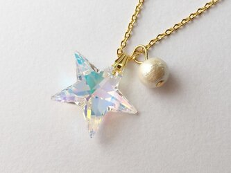 twinkle star necklaceの画像