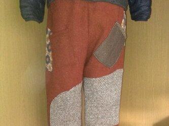 男女兼用HARRIS TWEED ズボン151218-02の画像