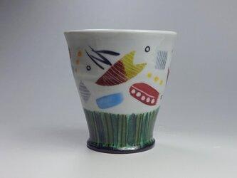 カラフルカップの画像