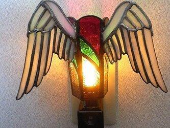 ステンドグラス フットランプ 翼の画像