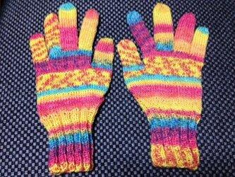 5本指手袋(Opal 星の王子さま 7766)の画像