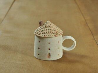家のカップ(レンガ)の画像