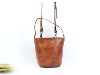 本革 かわいい2wayハンドバッグ&ショルダーバッグの画像