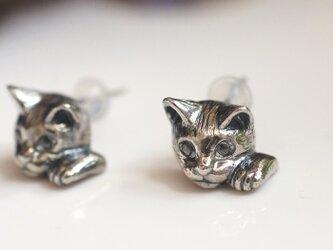 招き猫ピアス(ピクシー) 片耳の画像