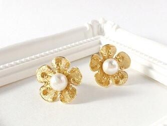 flower pierce ≪gold≫の画像