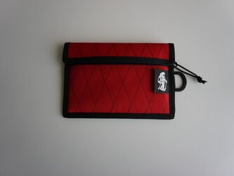 flap pouch  x-pac Redの画像