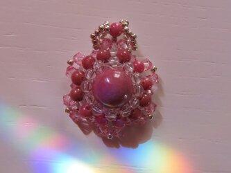 ロードナイト花型ペンダントトップD(ptssrh01)の画像