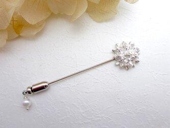 SV 小花のピンブローチ 1188の画像