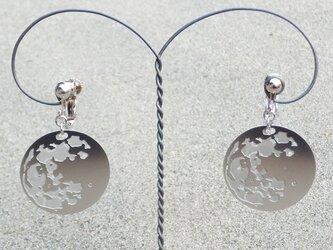 cometman 月(表・裏あり)のピアスorイヤリングの画像