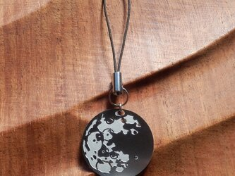 cometman 月(表・裏あり)のストラップの画像