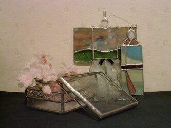 菱餅の小箱の画像